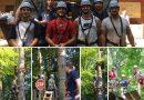 Teamevent der ersten Mannschaft im Fun Forest Kandel