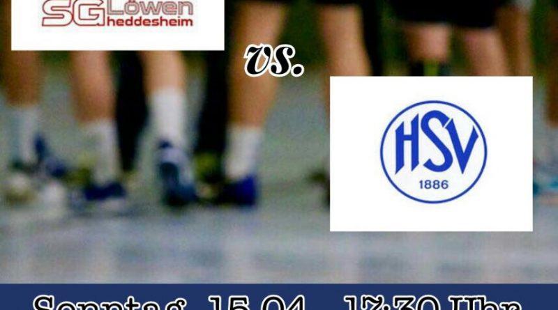 Vorbericht 24. Spieltag – SG Heddesheim vs. HSV 1