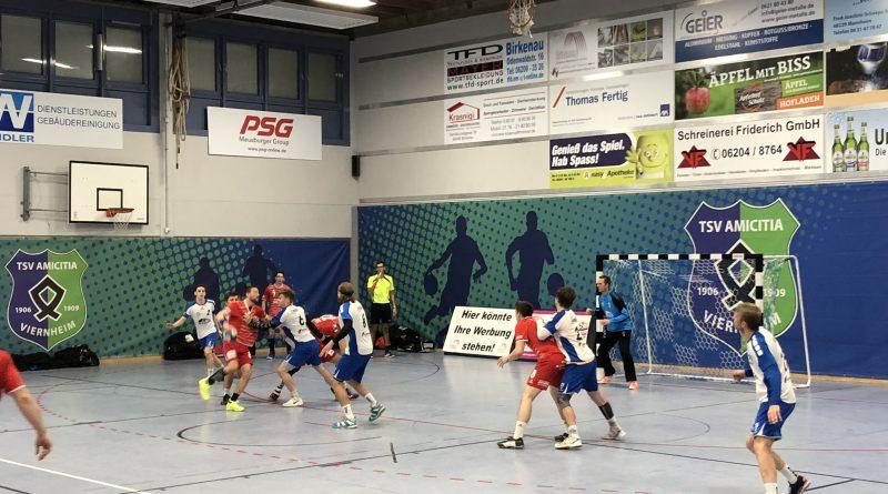Handball-Badenliga:Hockenheimunterliegt in Viernheimklarmit17:26(9:10)
