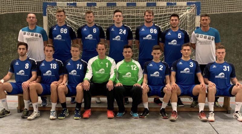 Handball-Verbandsliga:HSV mit 26:17 (10:10)– Heimsieg gegen HSG Ettlingen
