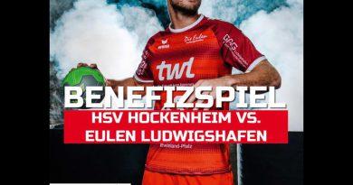 Benefizspiel HSV Hockenheim vs. die Eulen Ludwigshafen